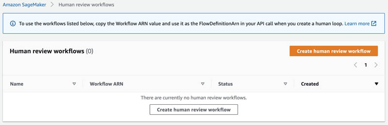 Designing human review workflows with Amazon Translate and Amazon Augmented AI 10