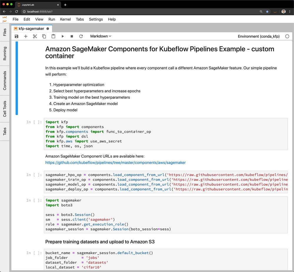 Introducing Amazon SageMaker Components for Kubeflow Pipelines 4