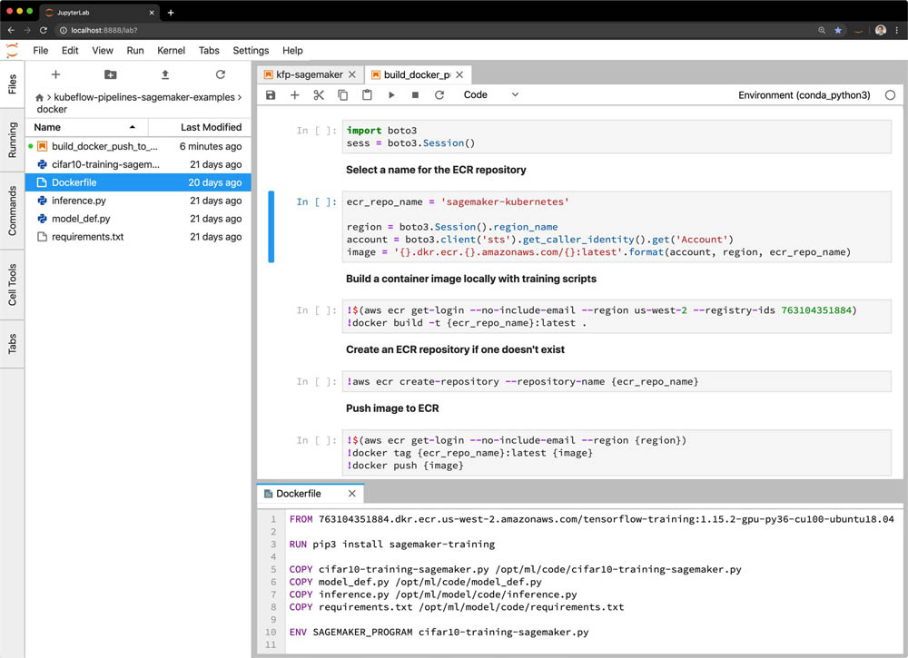 Introducing Amazon SageMaker Components for Kubeflow Pipelines 5