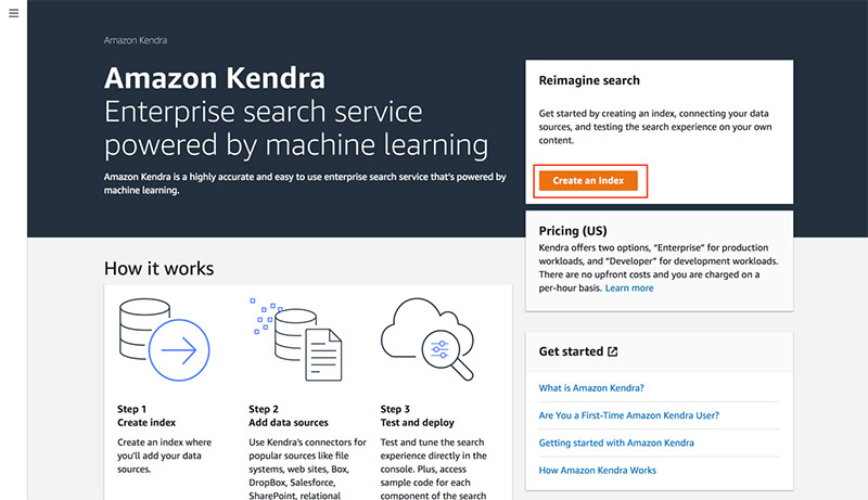 Enhancing enterprise search with Amazon Kendra 4