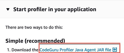 Simplifying application onboarding with Amazon CodeGuru Profiler 6