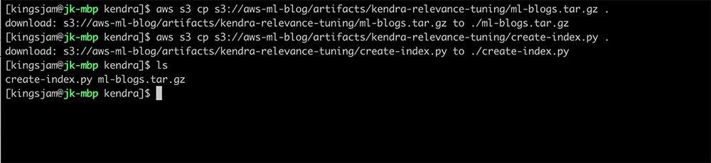 Relevance tuning with Amazon Kendra 1