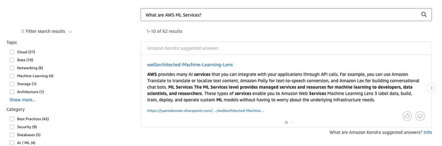 16 What are AWS ML Services Screenshot