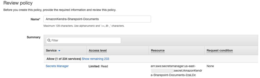 21 Review policy Screenshot