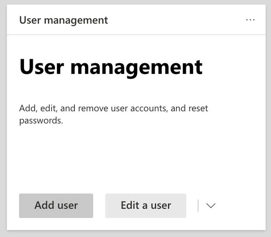 28 User Management