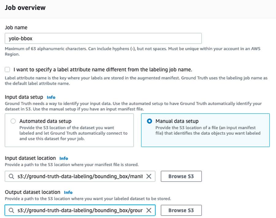 5 Job overview Screenshot
