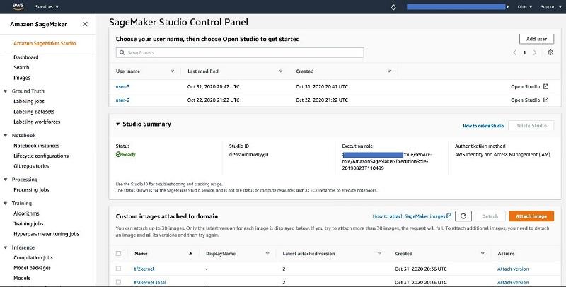Amazon SageMaker Studio notebooks 2