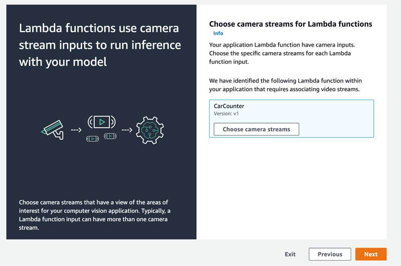 16 Lambda functions use camera