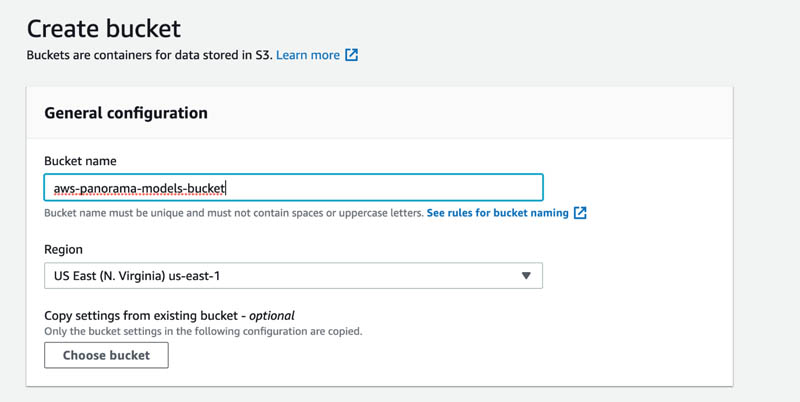 2 Create Bucket