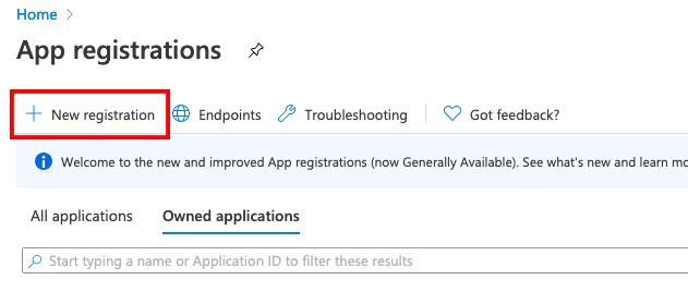 App Registrations 1