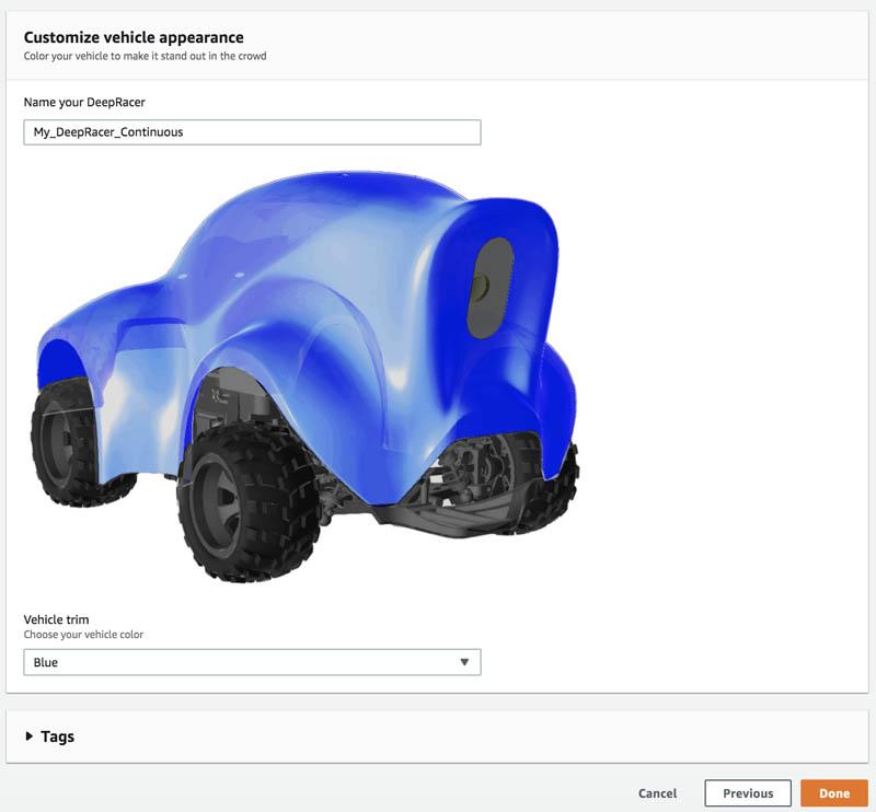 Customize vehicle appearance