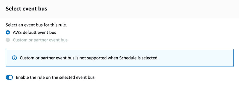 13 select event bus