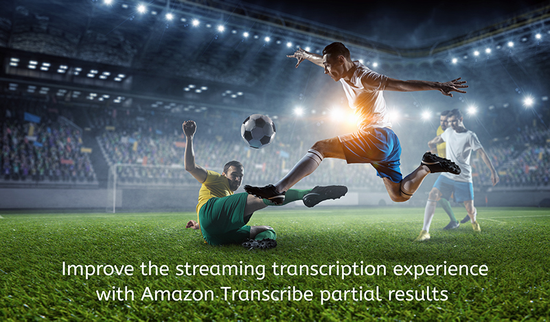 Improve the streaming transcription experience with Amazon Transcribe partial results stabilization