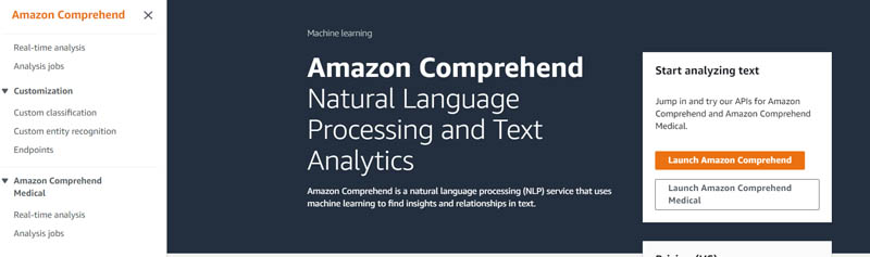 Extract custom entities from documents in their native format with Amazon Comprehend