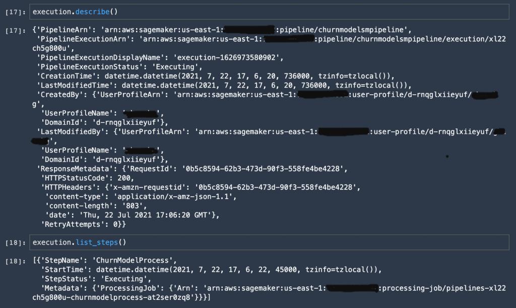 ML-4931-SMPipeline-DescribeExecution