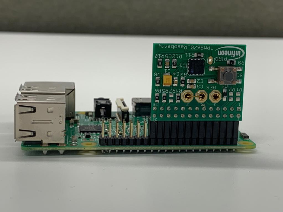 Setting up the TPM on Raspberry PI