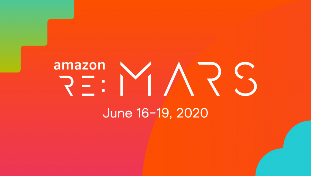 Amazon re:MARS will take place June 16-19 in Las Vegas, Nevada.