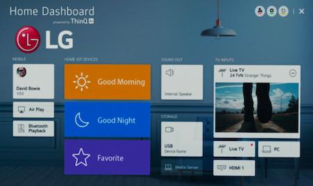 LG ThinQ platform