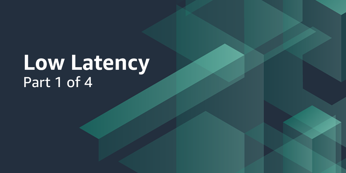 Part 1: How to Compete with Broadcast Latency Using Current Adaptive