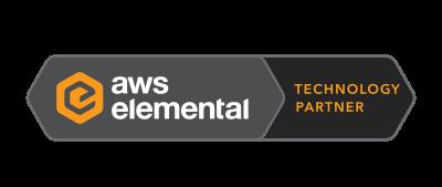 AWS Elemental Technology Partner Badge