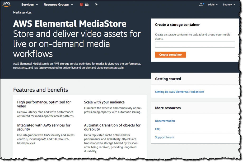 How to Send Live Video to AWS Elemental MediaStore | AWS