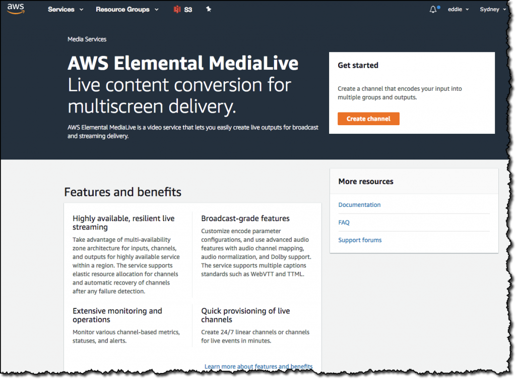 How to Send Live Video to AWS Elemental MediaStore | AWS Media Blog
