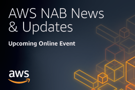AWS NAB News and Updates - Upcoming Online Event