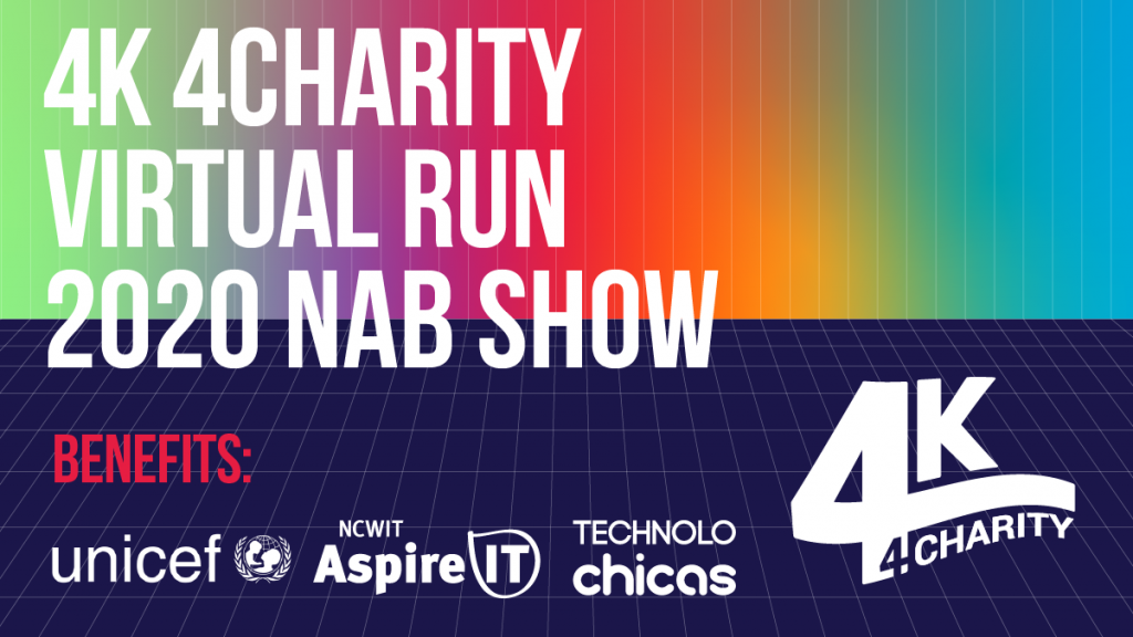 4K 4 Charity 2020 Virtual Run benefited programs like UNICEF, Aspire IT, and TECHNOLOchicas.