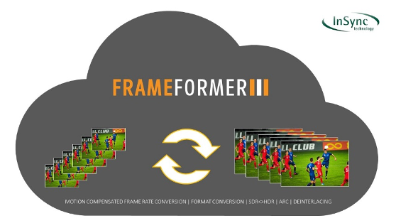 InSync Frame Former Software Conversion Engine graphic
