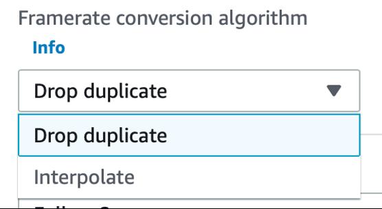 Figure 1: Drop-duplicate option