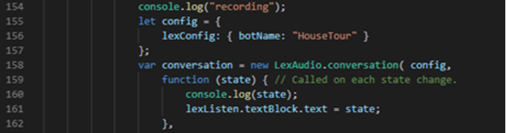 Easier method: Sending and playing-back the audio blob to Amazon Lex using the helper library