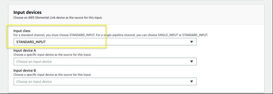 Create Input page, focus on Input class