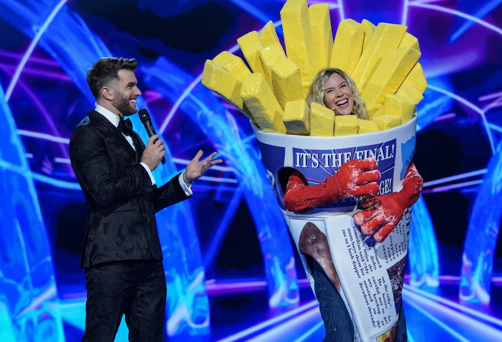 Image from an The Masked Singer