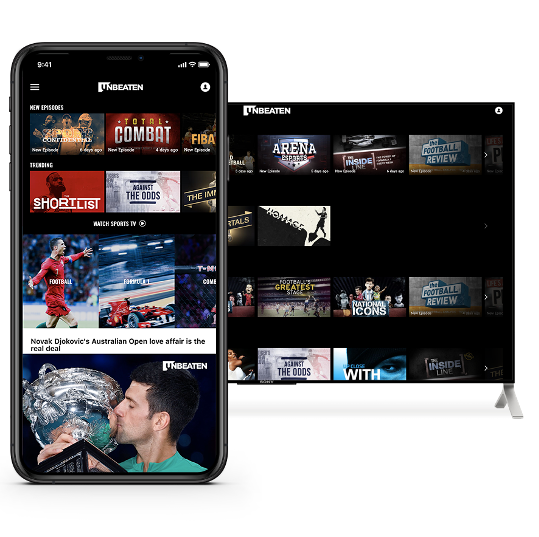 Inverleigh's direct-to-consumer channel and streaming platform - Unbeaten