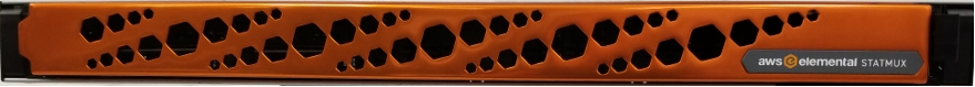Figure 3: AWS Elemental Statmux front panel