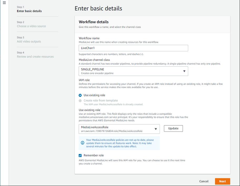 Basic Workflow Details