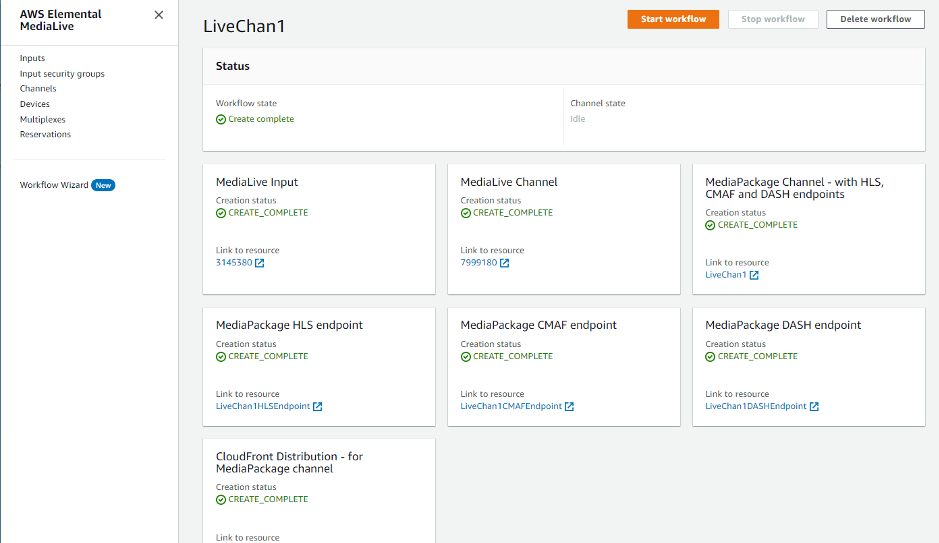 LiveChan1 Workflow
