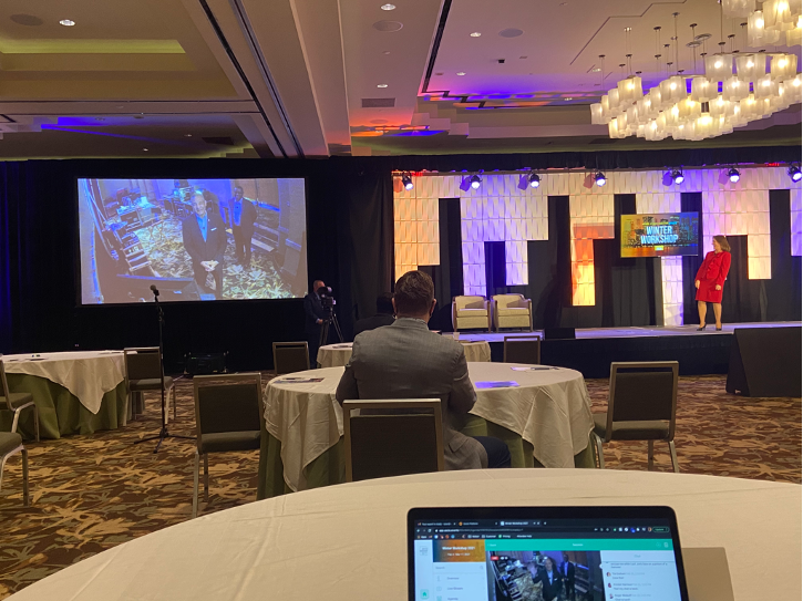 The National Speaker Association (NSA) leveraged the Socio RTMP Player to power live streams at their first-ever hybrid event, Winter Workshop 2021.