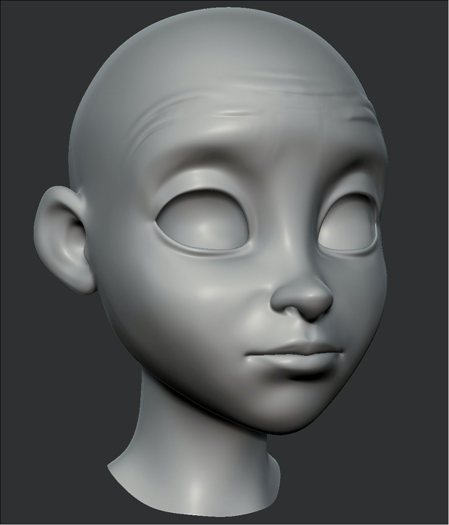 ZBrush - Brows Up