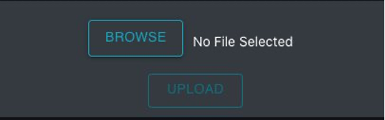 This is the upload media window. You can choose Browse and select the media you want to upload then choose upload to start the upload process.