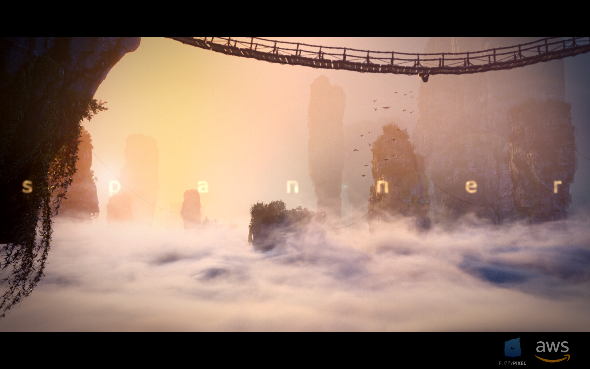 Opening title sequence for Spanner