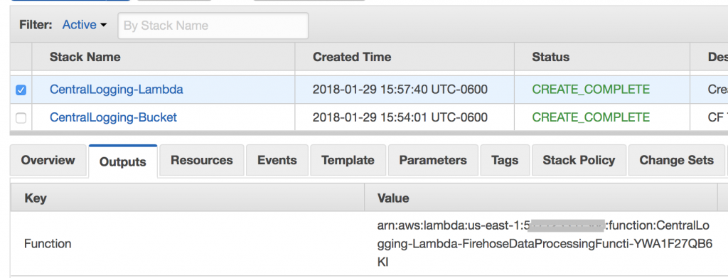 Central Logging in Multi-Account Environments | AWS Architecture Blog