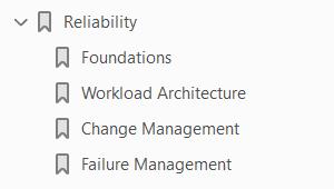 Reliability pillar