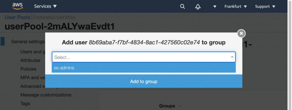 add to group screenshot