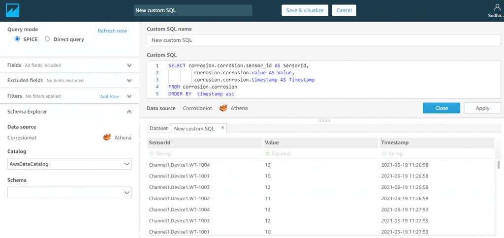 New custom SQL
