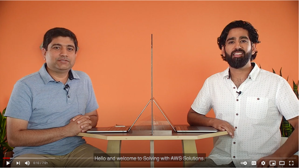 Check out Solving with AWS Solutions: Discovering Hot Topics Using Machine Learning on YouTube