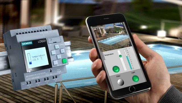 Smart home automation solution with Siemens LOGO! compact controller