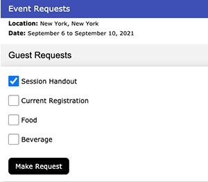Figure 3. Guest requests