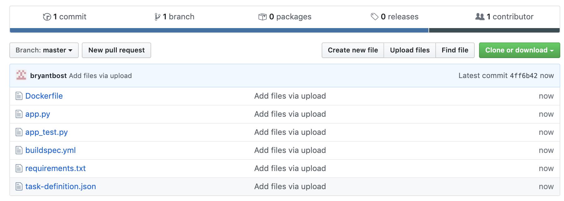 Example GitHub Repository