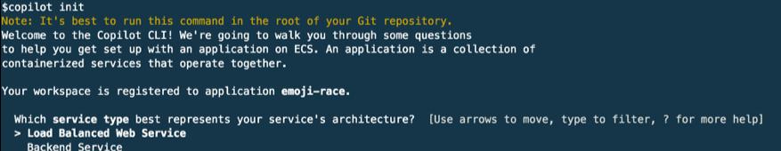 copilot - create a frontend microservice